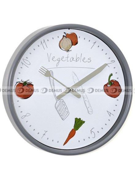 Zegar ścienny Demus EG6910B-PL-Vegetables