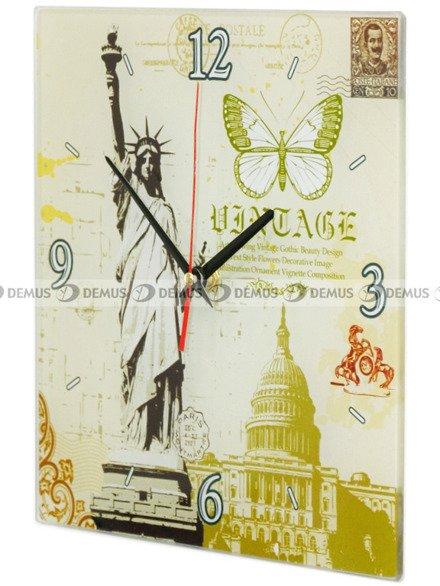 Zegar ścienny Demus S144069 Statua Wolności