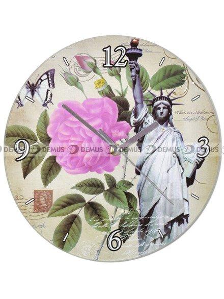 Zegar ścienny Demus S144072 Nowy Jork