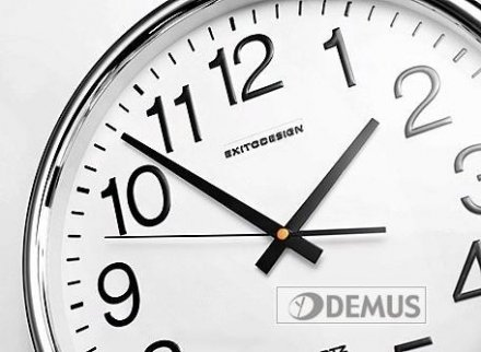 Zegar ścienny ExitoDesign City Numbers HS-013SS