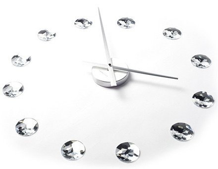 Zegar ścienny ExitoDesign DIY Diamond HS-668DM