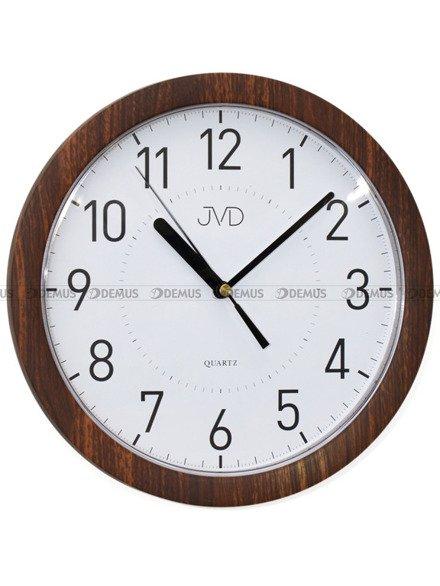 Zegar ścienny JVD H612.20 z tworzywa okrągły