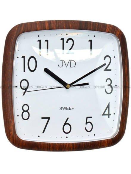Zegar ścienny JVD H615.6 z tworzywa kwadratowy