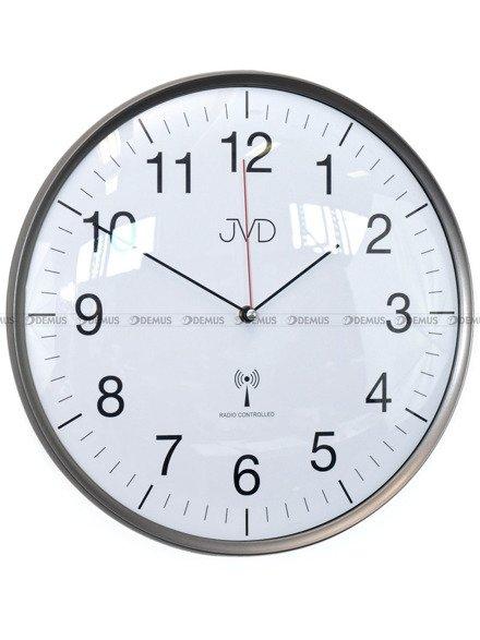 Zegar ścienny JVD RH16.2 biurowy, sterowany radiowo