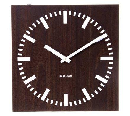 Zegar ścienny Karlsson Double Sided KA5529
