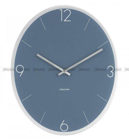 Zegar ścienny Karlsson Elliptical Jeans Blue KA5650BL