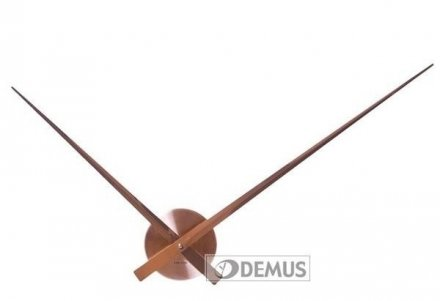 Zegar ścienny Karlsson Little Big Time Copper KA5516