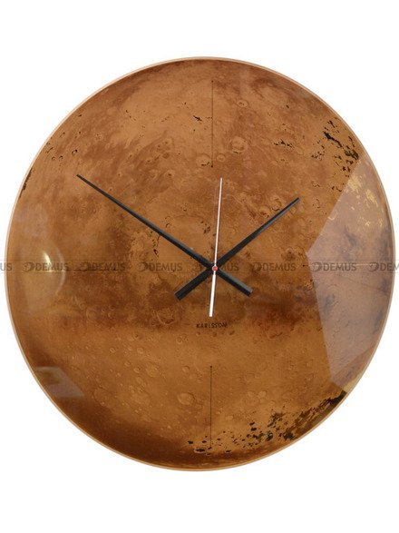 Zegar ścienny Karlsson Mars KA5638
