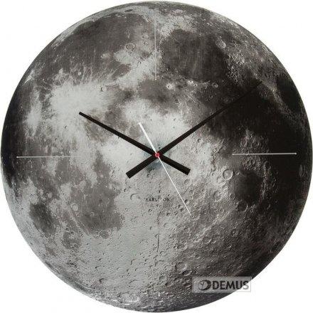 Zegar ścienny Karlsson Moon KA5475