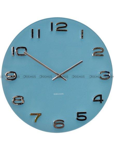 Zegar ścienny Karlsson Vintage Round Jeans Blue KA5640BL