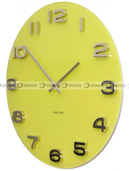 Zegar ścienny Karlsson Vintage Round Yellow KA5489YE