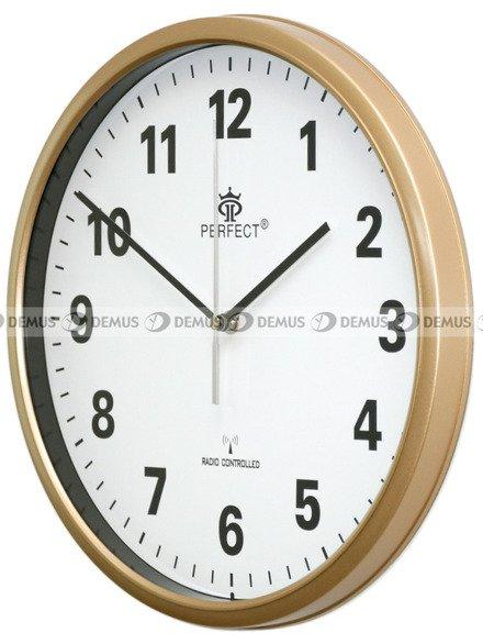 Zegar ścienny Perfect HT954D3-ZŁ