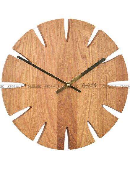 Zegar ścienny Vlaha VCT1013 - Z litego drewna dębowego