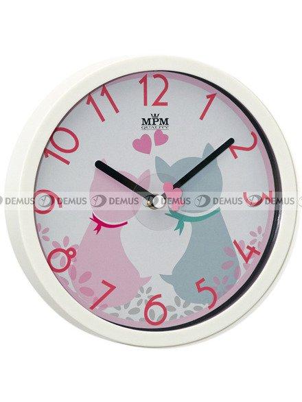 Zegar ścienny dla dzieci MPM E01.3089.0023.SW