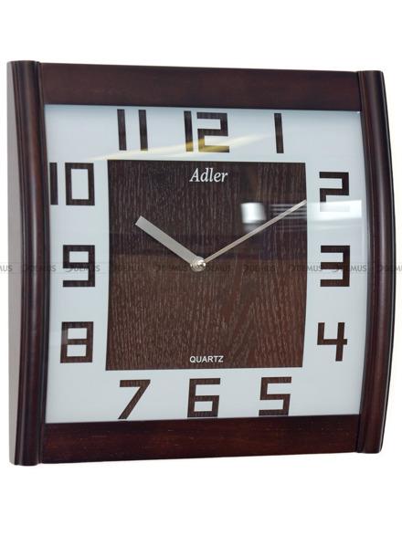 Zegar ścienny drewniany Adler 21157-W2