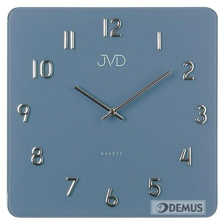 Zegar ścienny szklany JVD H85.1