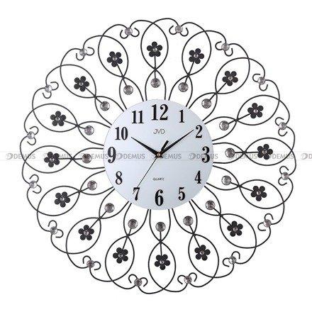 Zegar ścienny z kwiatkami JVD HJ86