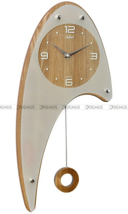 Zegar wiszący Adler 20243-PB-OAK