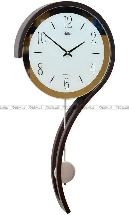 Zegar wiszący kwarcowy Adler 20216-WENGE