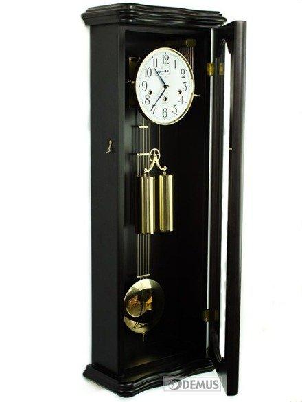 Zegar wiszący mechaniczny Tomek-Gold-Wenge