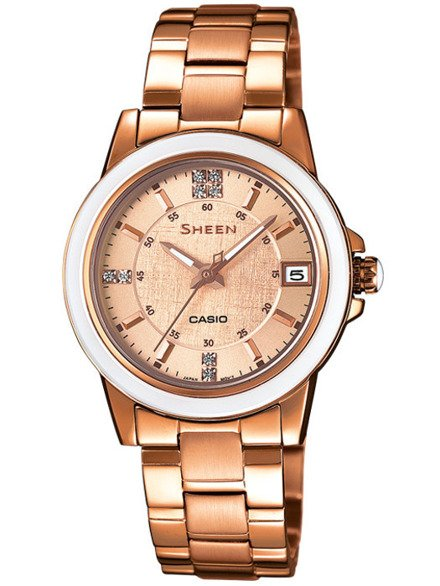 Zegarek Casio Sheen SHE 4512PG 9AUER