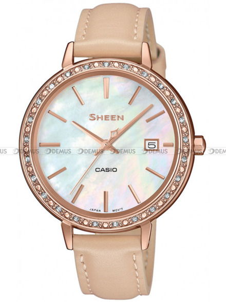Zegarek Damski Casio Sheen SHE 4052PGL 7BUEF