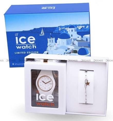 Zegarek Damski Ice-Watch - Ice Cosmos Star White 018499 M - Z bransoletką w zestawie - Limitowana edycja