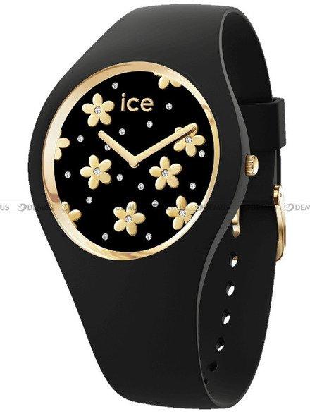 Zegarek Damski Ice-Watch - Ice Flower Precious Black 016659 S