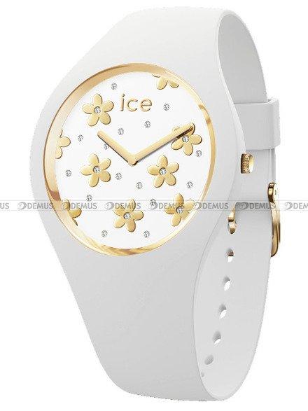 Zegarek Damski Ice-Watch - Ice Flower Precious White 016667 M
