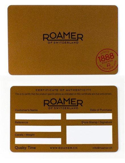 Zegarek Damski Roamer C-Line Diamond 657844 49 29 60