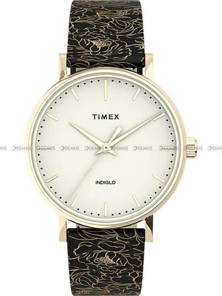 Zegarek Damski Timex Fairfield Floral TW2U40700