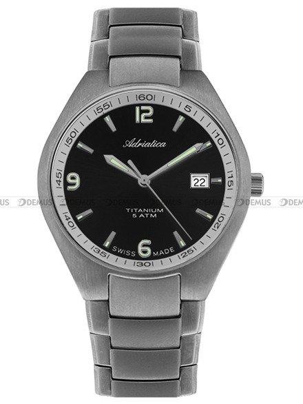 Zegarek Męski Adriatica Tytanowy A1069.4156Q