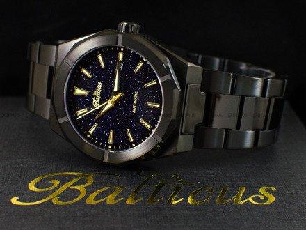 Zegarek Męski Balticus Czarny Pył z datownikiem