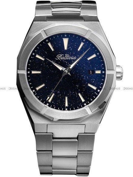 Zegarek Męski Balticus StarDust Gwiezdny Pył slim kwarc z datownikiem