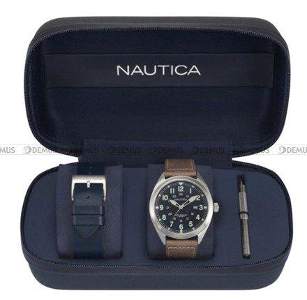 Zegarek Męski Battery Park NAPBTP008 - Dodatkowy pasek w zestawie