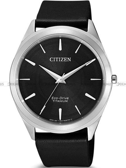 Zegarek Męski Citizen Eco-Drive Titanium BJ6520-15E