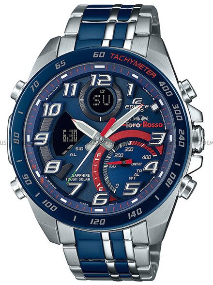 Zegarek Męski EDIFICE Bluetooth Toro Rosso ECB 900TR 2AER - Limitowana edycja