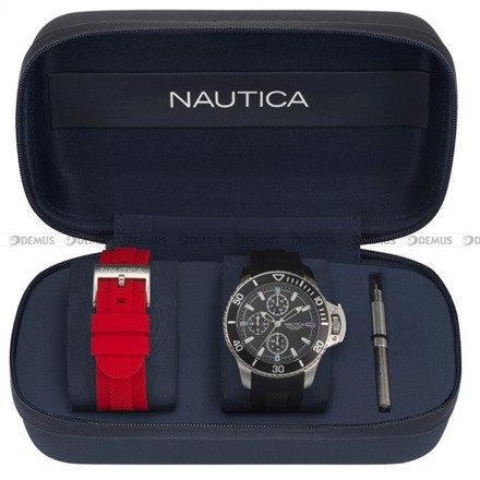 Zegarek Męski Nautica Bayside NAPBYS007 - Dodatkowy pasek w zestawie