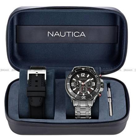 Zegarek Męski Nautica NST Chronograph NAPNSS124 - W zestawie dodatkowy pasek