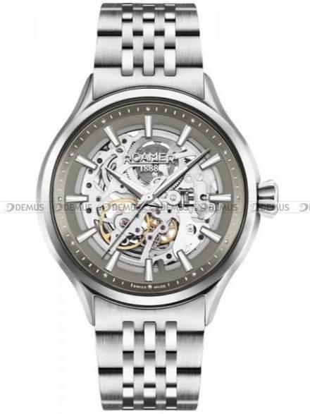 Zegarek Męski automatyczny Roamer Competence Skeleton III 101663 41 55 10N