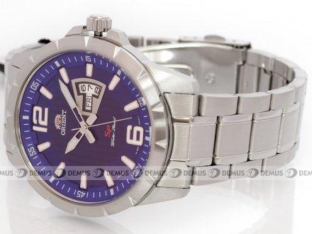 Zegarek Orient Mens Fashion FUG1X004D9 męski na stalowej bransolecie