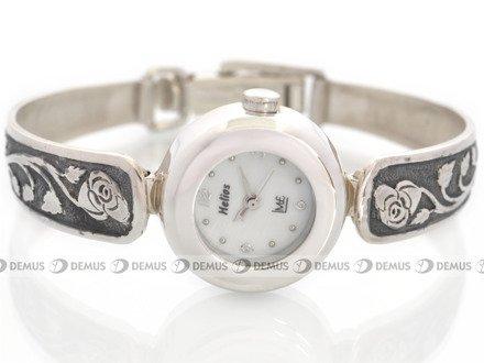 Zegarek Srebrny Helios Prestige HP44