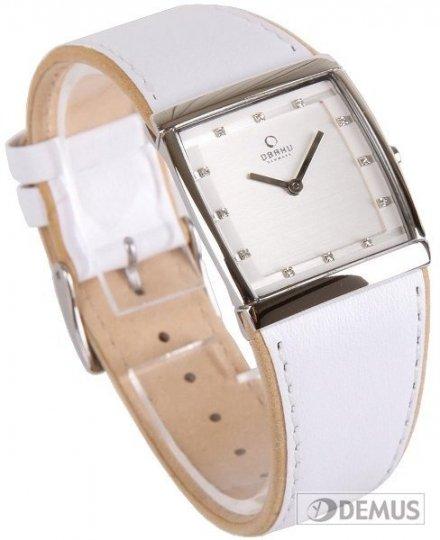 Zegarek damski na pasku Obaku V102LCCRW