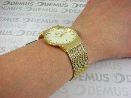 Zegarek męski na bransolecie Obaku V123GGIMG