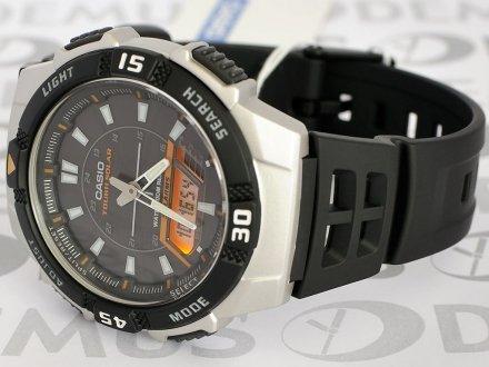 Zegarek sportowy na pasku Casio AQ S800W 1EVEF