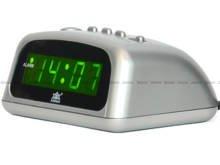 Budzik sieciowy LED XONIX 1228-Green