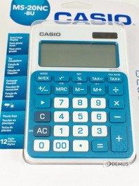 Kalkulator biurowy Casio MS-20NC-BU-S