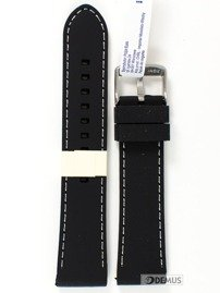 Pasek gumowy do zegarka silikonowy - Morellato A01U3844187019 22 mm
