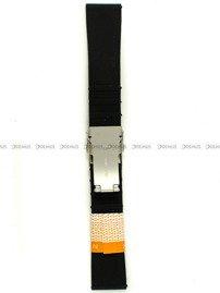 Pasek silikonowy Diloy do zegarka - SBR36.22.1 - 22 mm