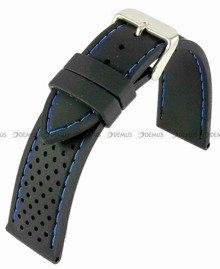 Pasek silikonowy do zegarka - Horido 0015.01B.22S - 22 mm